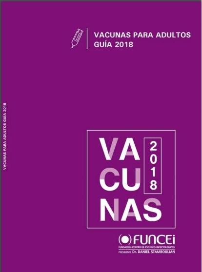 Guía de vacunas para adultos 2018